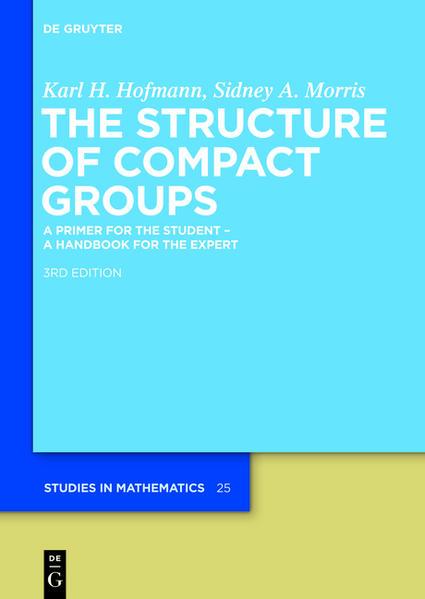The Structure of Compact Groups - Coverbild