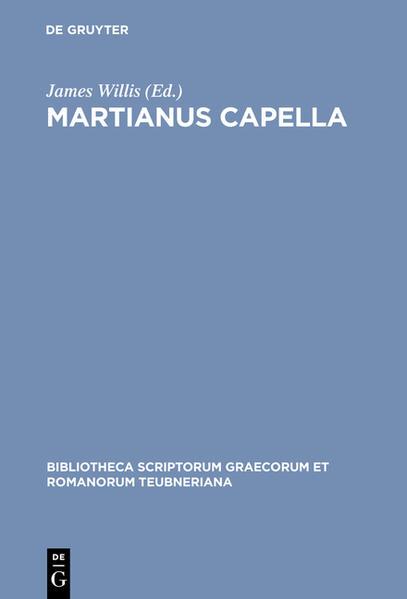 Martianus Capella - Coverbild