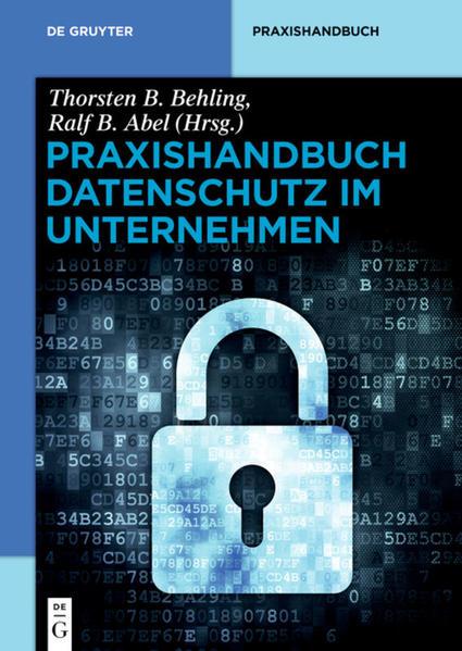 Praxishandbuch Datenschutz im Unternehmen - Coverbild