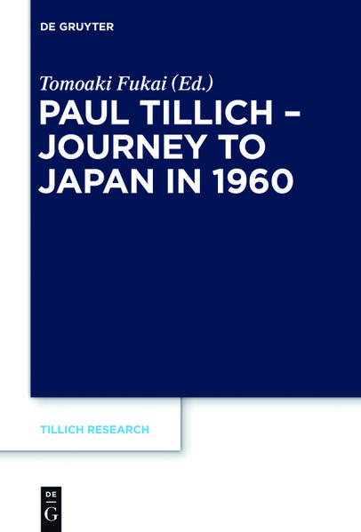 Paul Tillich - Journey to Japan in 1960 - Coverbild