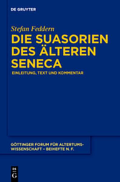 Die Suasorien des älteren Seneca - Coverbild