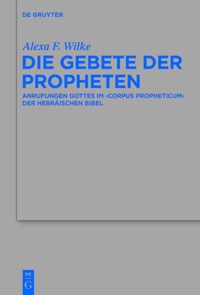 Die Gebete der Propheten - Coverbild