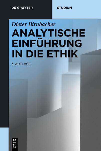 Analytische Einführung in die Ethik - Coverbild