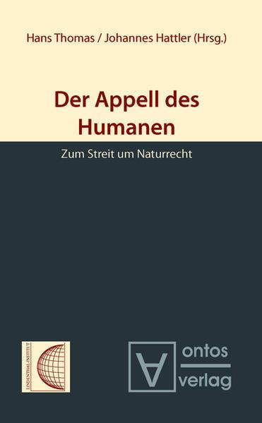 Der Appell des Humanen - Coverbild