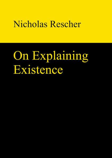 On Explaining Existence - Coverbild