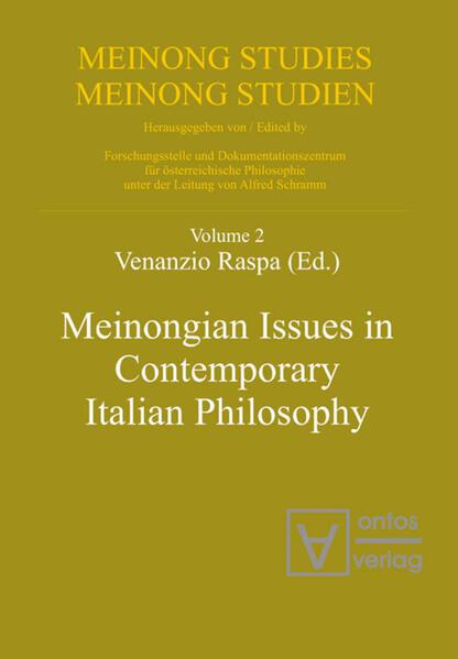 Meinongian Issues in Contemporary Italian Philosophy - Coverbild