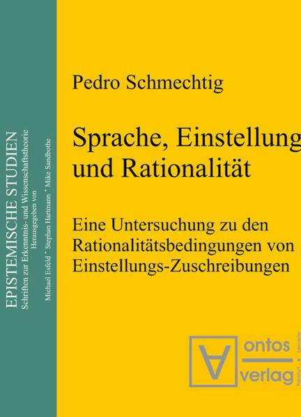 Sprache, Einstellung und Rationalität - Coverbild