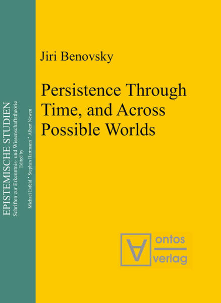 Persistence Through Time, and Across Possible Worlds - Coverbild