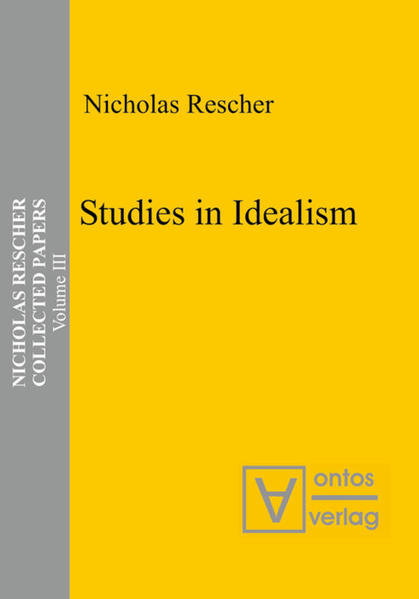 Collected Papers / Studies in Idealism - Coverbild