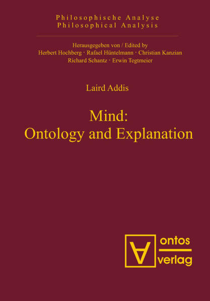 Mind: Ontology and Explanation - Coverbild