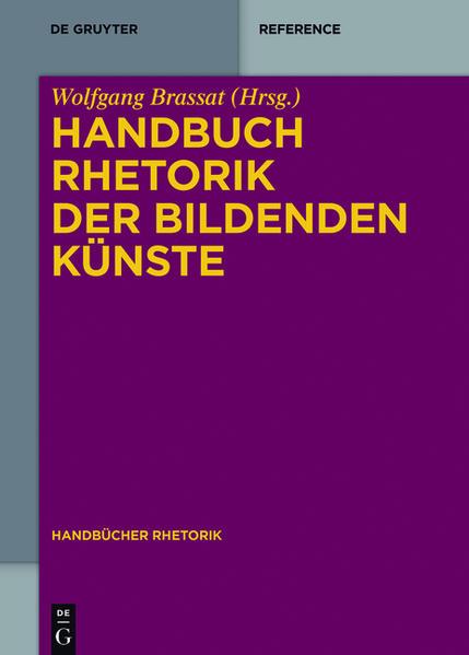 Handbuch Rhetorik der Bildenden Künste - Coverbild
