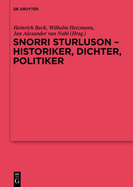Snorri Sturluson - Historiker, Dichter, Politiker - Coverbild