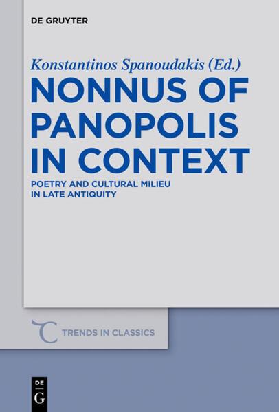 Nonnus of Panopolis in Context - Coverbild