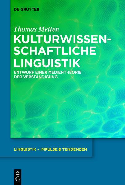 Kulturwissenschaftliche Linguistik - Coverbild