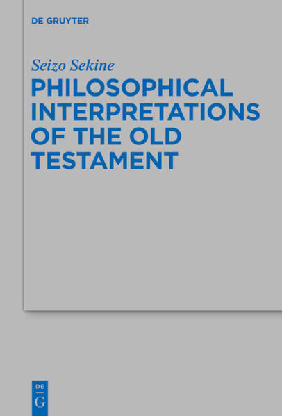 Philosophical Interpretations of the Old Testament - Coverbild