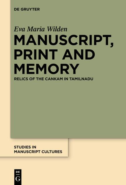 Manuscript, Print and Memory - Coverbild