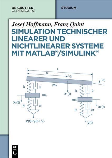 Simulation technischer linearer und nichtlinearer Systeme mit MATLAB/Simulink - Coverbild