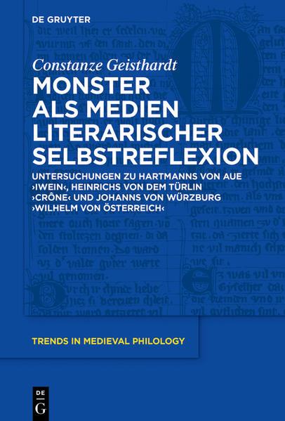Monster als Medien literarischer Selbstreflexion - Coverbild