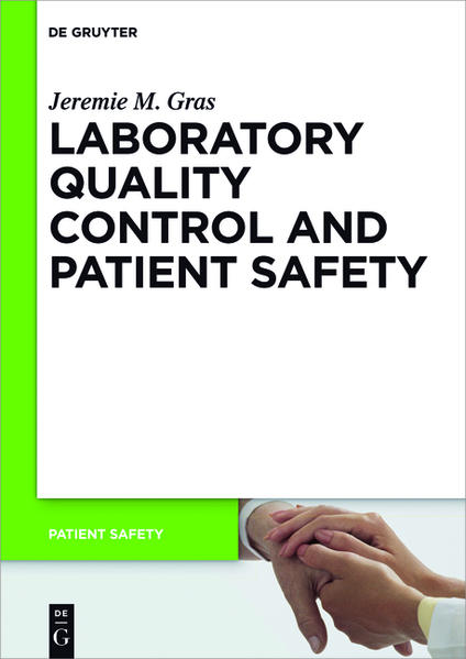 Laboratory quality control and patient safety - Coverbild
