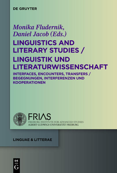 Linguistics and Literary Studies / Linguistik und Literaturwissenschaft - Coverbild