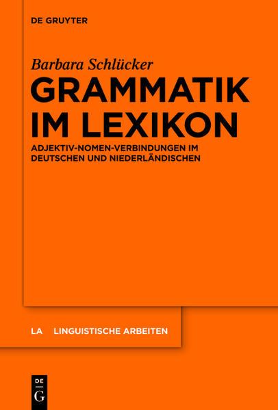 Grammatik im Lexikon - Coverbild