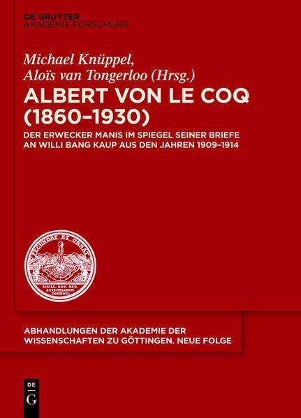Albert von le Coq (1860-1930) - Der Erwecker Manis - Coverbild