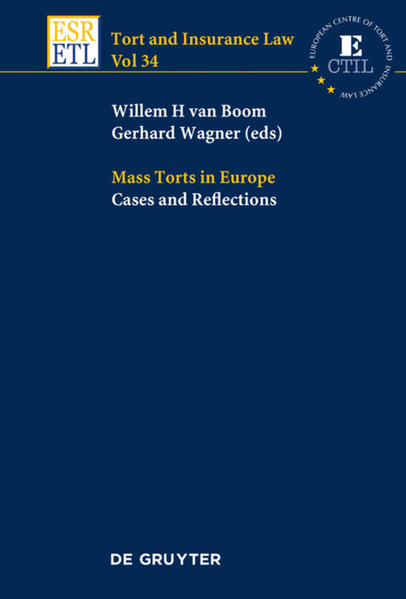 Mass Torts in Europe - Coverbild