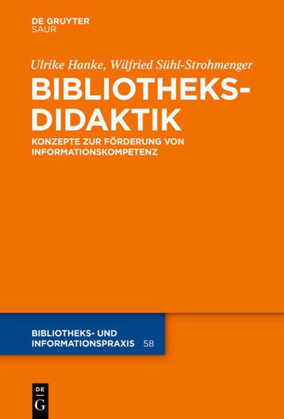 Bibliotheksdidaktik - Coverbild