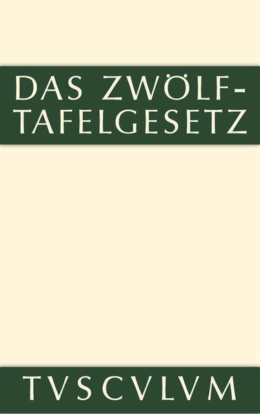 Das Zwölftafelgesetz - Coverbild