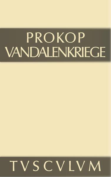 Prokop: Werke / Vandalenkriege - Coverbild