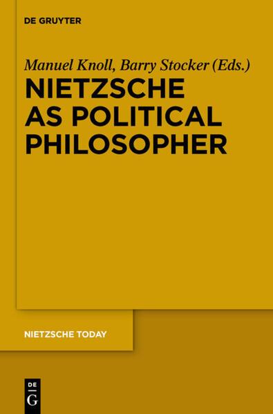 Nietzsche as Political Philosopher - Coverbild