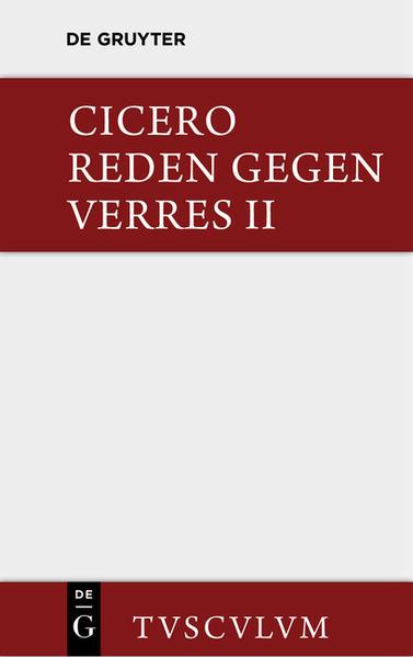 Die Reden gegen Verres / In C. Verrem - Coverbild