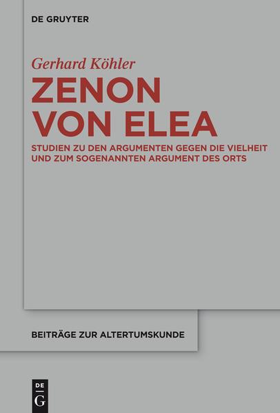 Zenon von Elea - Coverbild