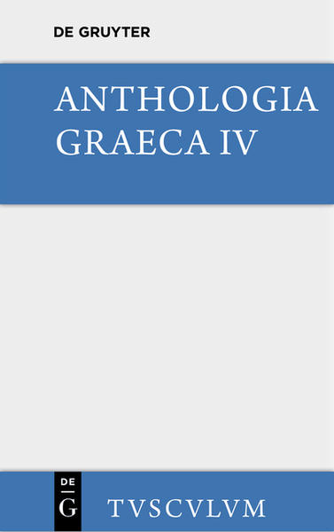 Anthologia Graeca / Buch XII - XVI - Coverbild