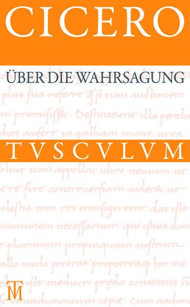 Über die Wahrsagung / De divinatione - Coverbild
