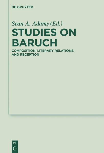 Studies on Baruch - Coverbild