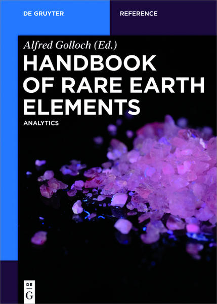 Handbook of Rare Earth Elements - Coverbild