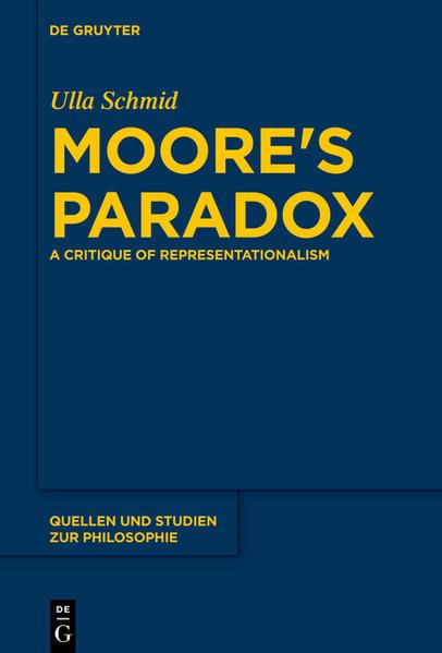 Moore's Paradox - Coverbild