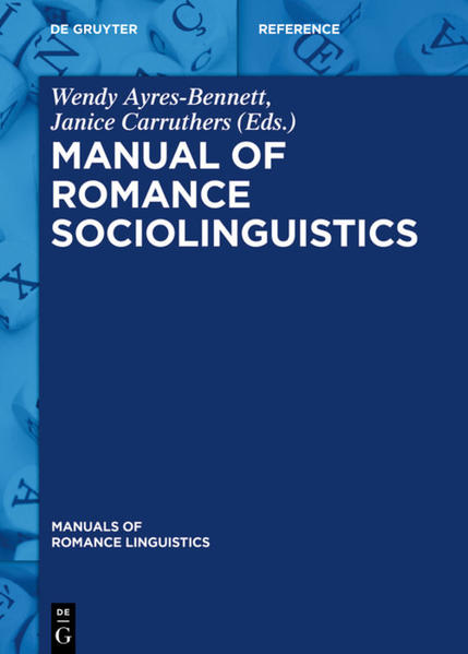 Manual of Romance Sociolinguistics - Coverbild