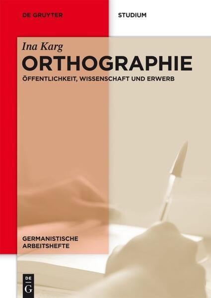 Orthographie - Coverbild