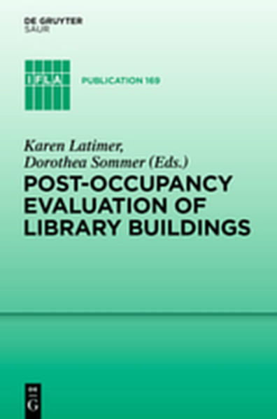 Post-occupancy evaluation of library buildings - Coverbild