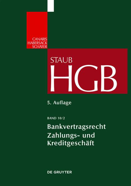 Handelsgesetzbuch / Bankvertragsrecht 2 - Coverbild
