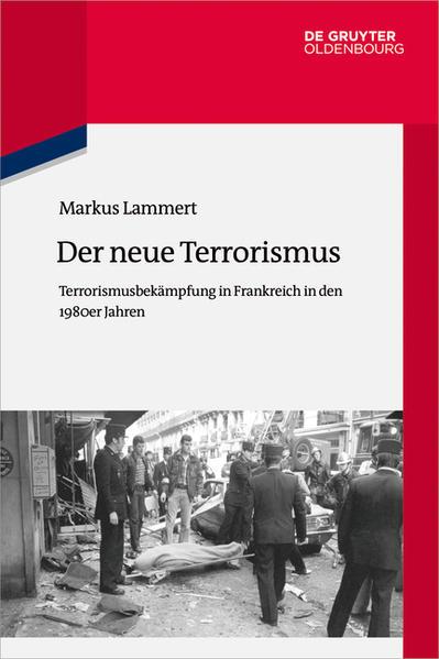 Staat und Terrorismus in Frankreich 1968-1988 - Coverbild