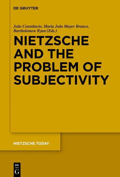 Nietzsche and the Problem of Subjectivity - Coverbild