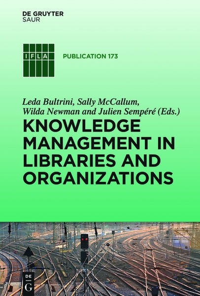 Knowledge Management in Libraries and Organizations - Coverbild