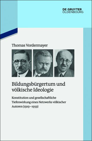Bildungsbürgertum und völkische Ideologie - Coverbild