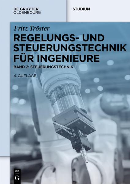 Regelungs- und Steuerungstechnik für Ingenieure - Coverbild