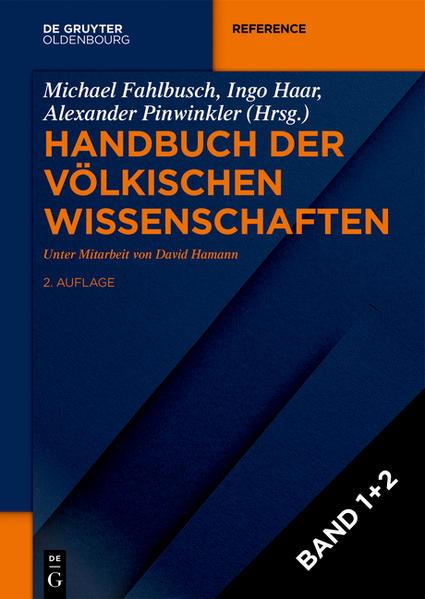Handbuch der völkischen Wissenschaften - Coverbild