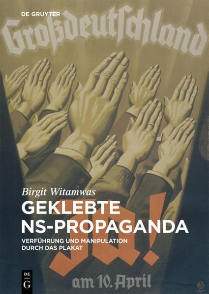 Geklebte NS-Propaganda - Coverbild