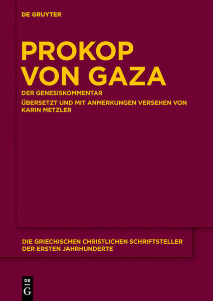Prokop von Gaza - Coverbild